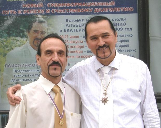 Профессор А. Игнатенко и Ф. Ширяев