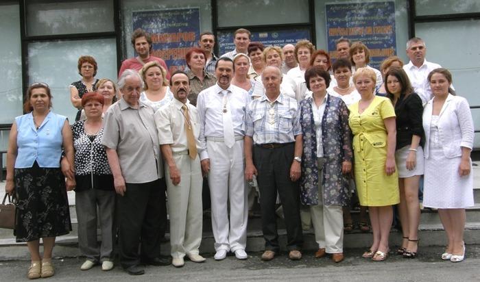 Сенминар в Екатеринбурге 2009